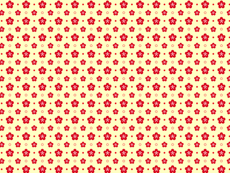 Plum flower pattern 9