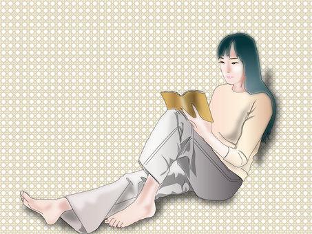 Women reading 12