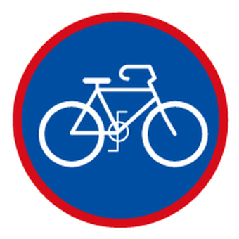 Bicycle _ icon _ blue × red