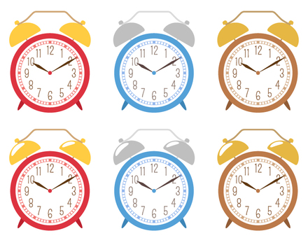 目覚まし時計_セット