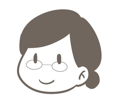 여성 안경