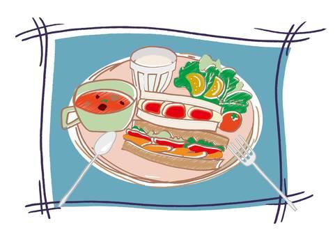 Sandwich Morning Set