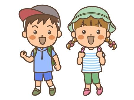 소풍 아이들