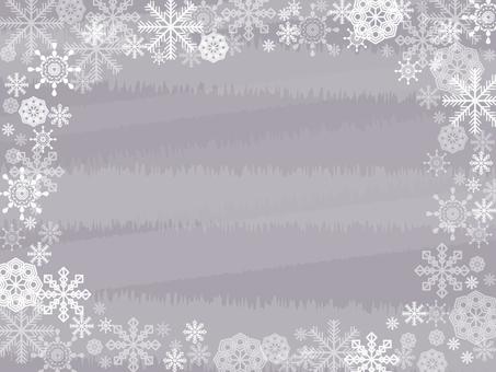 Snow crystal wallpaper side 3