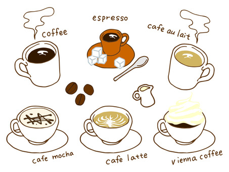 Various coffee
