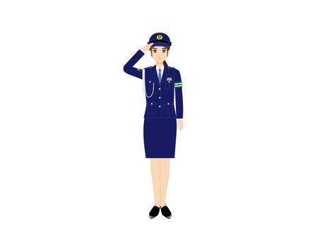 Working Woman (Women's Police Officer 1)