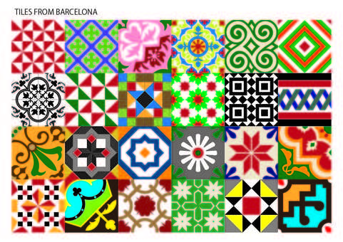 스페인 무늬