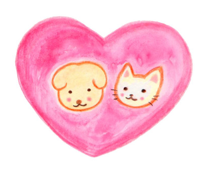 Hearts and pets