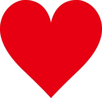 Heart _ Standard _ Red