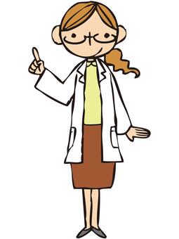 Researcher (pointer)