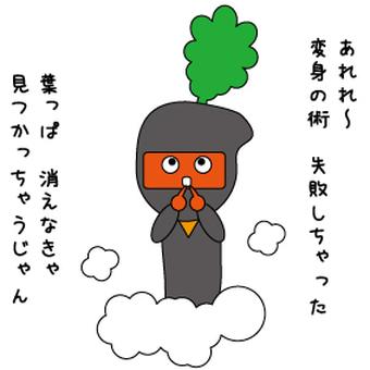 Carrots ninja