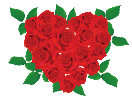 Rose flowers _ Heart