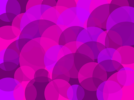 Grape image circle pattern background