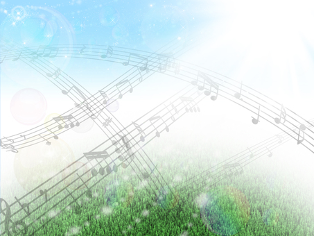 Musical notes background 02