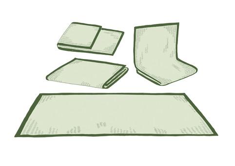 Yin grass mat