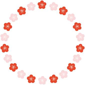 Plum Blossom Frame