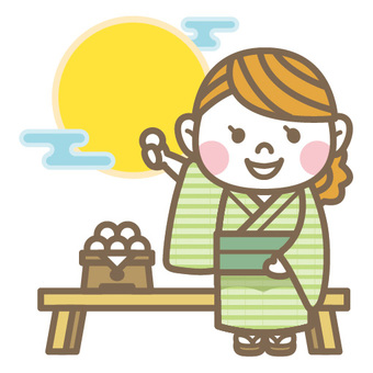 Tsukimi girl