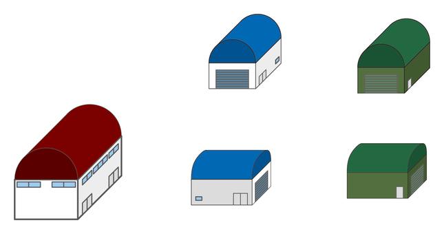 City series gymnasium / warehouse