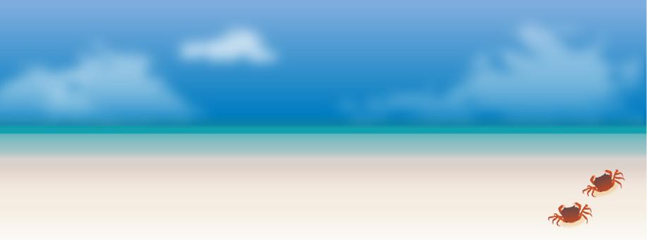 Summer sea and sky 02