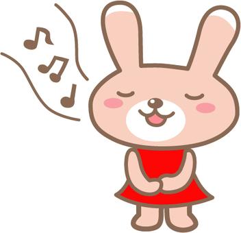 Singing rabbits