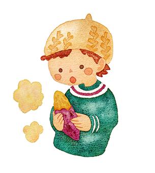 Sweet potato boy