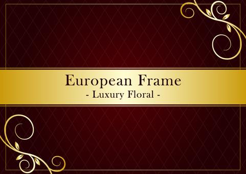 European frame 005