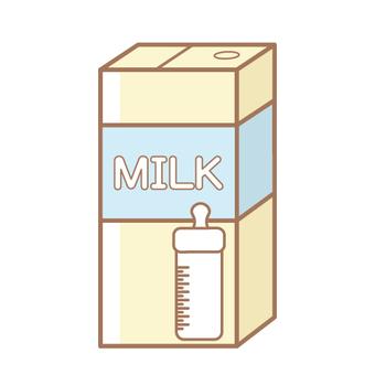 Liquid milk (paper pack)