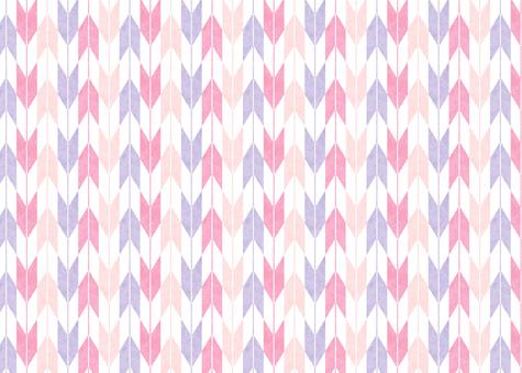 ひな祭りカラーの矢絣5