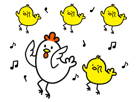Chicken and chick dance version 2-2