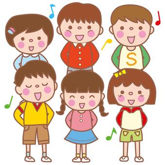 Chorus or chorus (elementary school student)