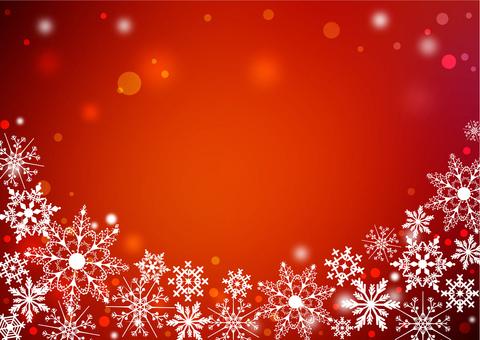 クリスマス_レッド背景2210