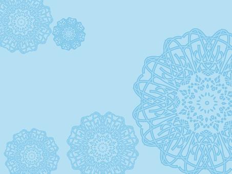 Lace (light blue)
