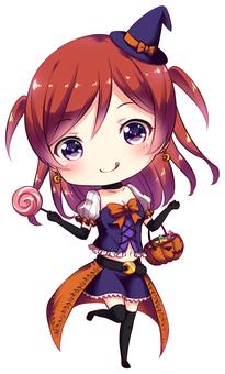 Halloween Girl 1