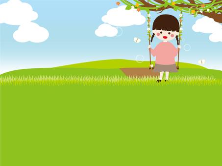 Grassland swing