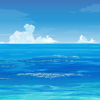 Empty / Sea / Background