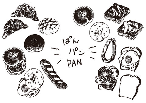 Bread monochrome