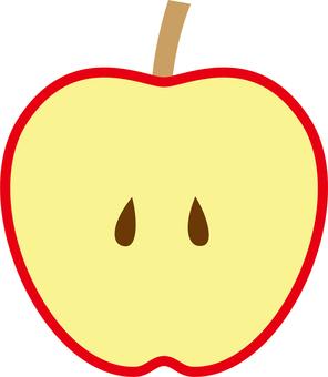 Apple (half)