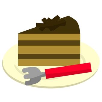 巧克力蛋糕⑤