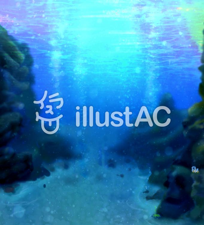 幻想的な海イラスト No 1150085無料イラストならイラストac