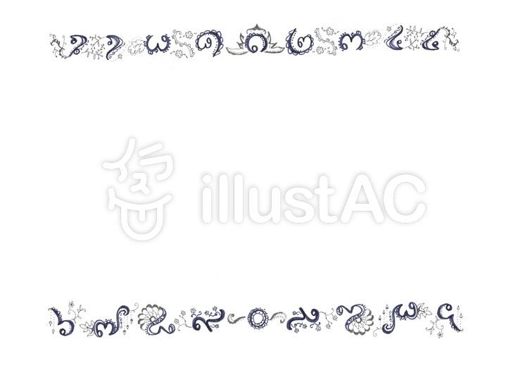 Free Cliparts : Thai digital line frame - 443802 | illustAC