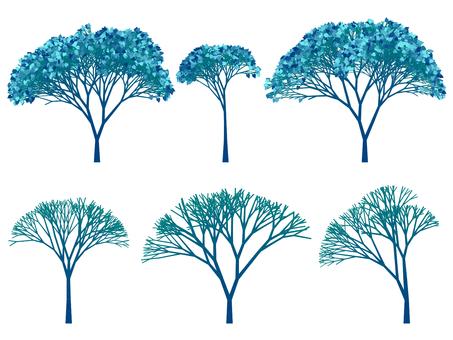 나무의 일러스트 52