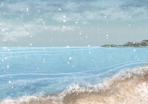 겨울 바다