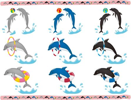 Dolphin set