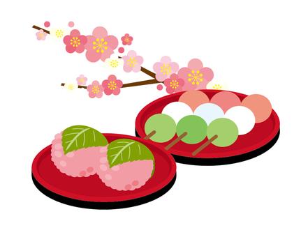 Dumpling, Sakura-mochi