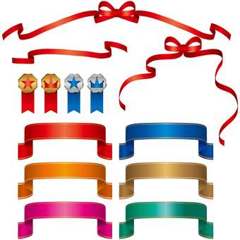 Ribbon decoration set