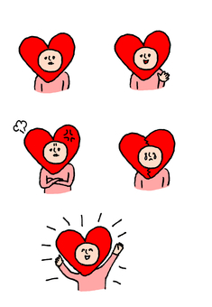 Heart's emotions