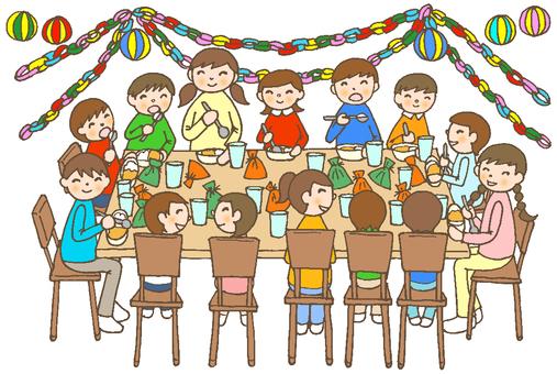 Dinner party 13 (children's chair decoration)