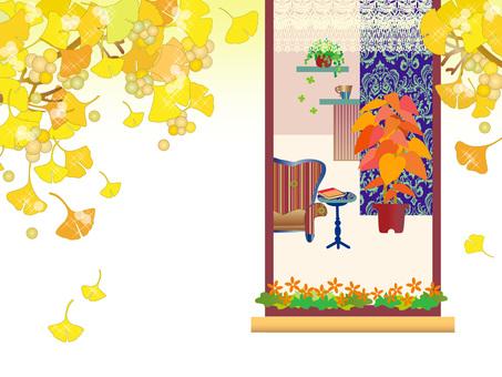 Interior _ window _ ginkgo