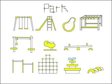 Play equipment set
