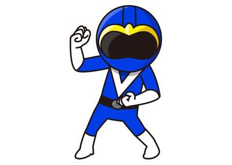 Blue Ranger - Stance